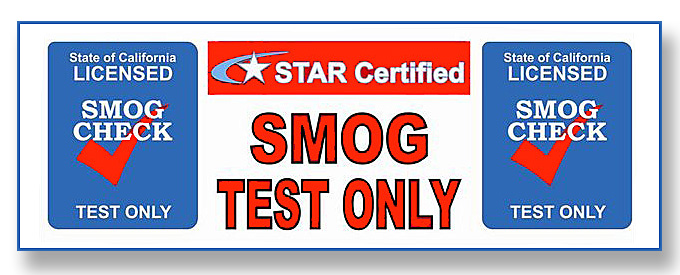 Smog test only coupon san diego